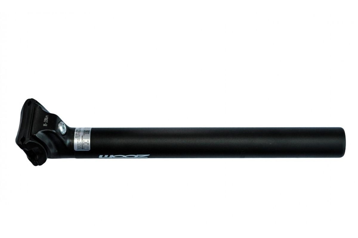 Труба сидения на МТВ 31,6х350мм, алюминиевая, черная
