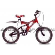Велосипед CROSSRIDE Bravo 16 AMT