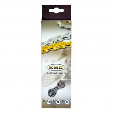 Ланцюг KMC X8 1/2х3/32х116L срібна/срібна, 8шв.