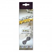 Ланцюг KMC X9 1/2х11/128х116L сріб/сріб, 9шв.