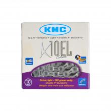Ланцюг KMC X10-1EL 1/2х11/128х114L сріб/сріб, 10шв.