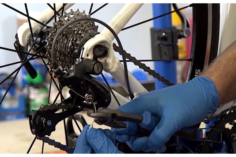 Как сделать тросик на велосипеде